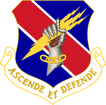 Coat of arms (crest) of the 406th Air Expeditionary Wing, US Air Force
