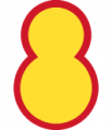 8th Infantry Division, Republic of Korea Army.png