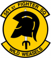 561st Fighter Squadron, US Air Force.png