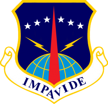Coat of arms (crest) of the 90th Missile Wing, US Air Force