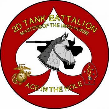 Coat of arms (crest) of the 2nd Tank Battalion, USMC