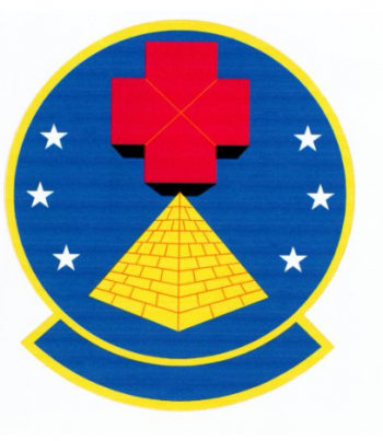 Coat of arms (crest) of the 12th Medical Support Squadron, US Air Force