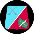 Headquarters, III Reconnaissance Battalion, The Guards Hussar Regiment, Danish Army.png