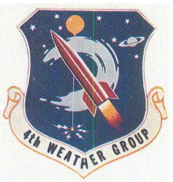 Coat of arms (crest) of the 4th Weather Group, US Air Force