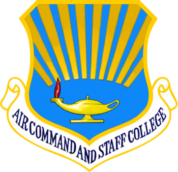 Coat of arms (crest) of the Air Command And Staff College, US Air Force