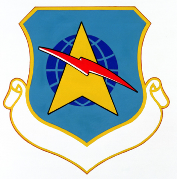 Coat of arms (crest) of the Tactical Communications Division, US Air Force