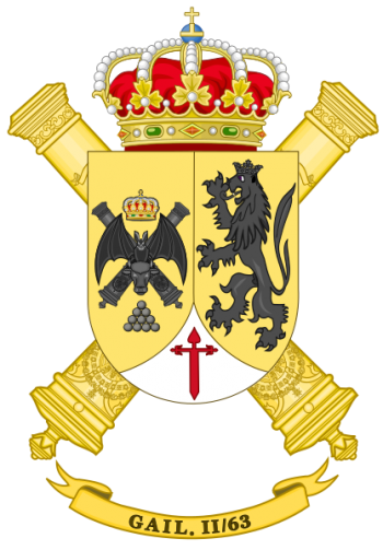 Coat of arms (crest) of the Information and Locating Group II-63, Spanish Army
