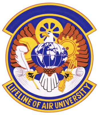 Coat of arms (crest) of the 3800th Logistics Squadron, US Air Force