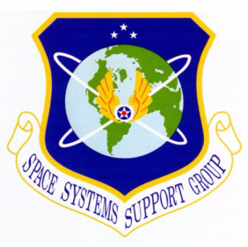 Coat of arms (crest) of the Space Systems Support Group, US Air Force