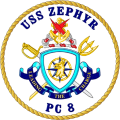 Coastal Patrol Ship USS Zephyr (PC-8).png