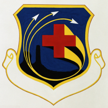 Coat of arms (crest) of the 832nd Medical Group, US Air Force