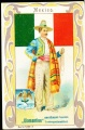 Arms, Flags and Folk Costume trade card Diamantine Mexiko
