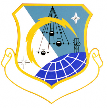 Coat of arms (crest) of the Airlift Communications Division, US Air Force
