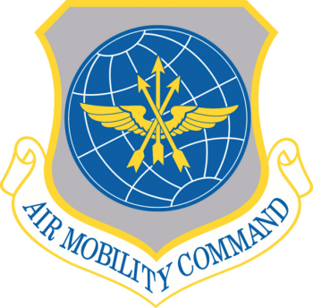 Coat of arms (crest) of the Air Mobility Command, US Air Force