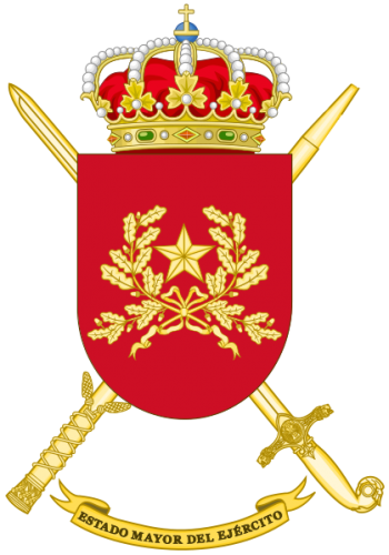 Coat of arms (crest) of the General Staff, Spanish Army
