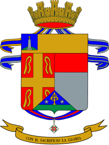 Coat of arms (crest) of the 11th Infantry Regiment Casale, Italian Army