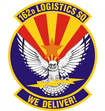 Coat of arms (crest) of the 162nd Logistics Squadron, US Air Force