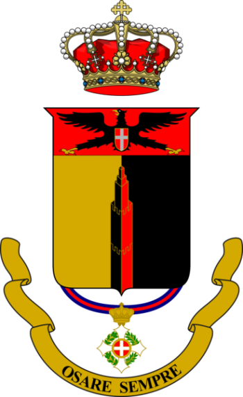 Coat of arms (crest) of the 31st Infantry Regiment Siena, Italian Army