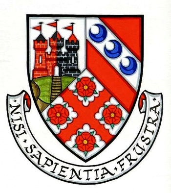 Arms (crest) of Edinburgh Napier University