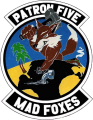 VP-5 Mad Foxes, US Navy.png