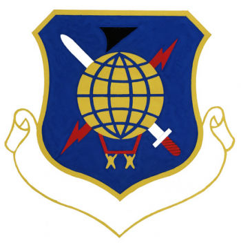 Coat of arms (crest) of the 1st Combat Support Group, US Air Force