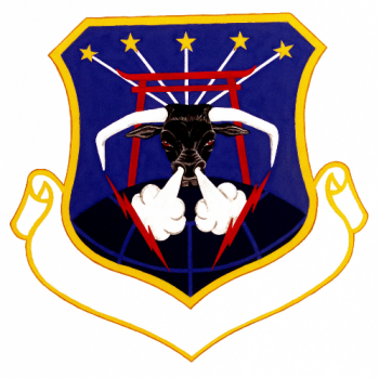 Coat of arms (crest) of the 18th Civil Engineering Group, US Air Force