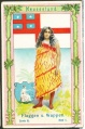 Arms, Flags and Folk Costume trade card Natrogat Neu Seeland