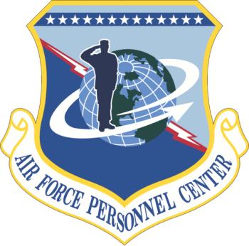Coat of arms (crest) of the Air Force Personnel Center, US Air Force