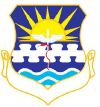 Coat of arms (crest) of the USAF Hospital Minot, US Air Force