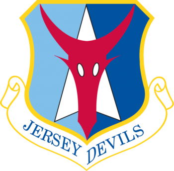 Coat of arms (crest) of the 177th Fighter Wing, New Jersey Air National Guard