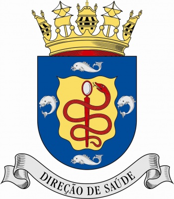 Arms of Medical Directorate, Portuguese Navy