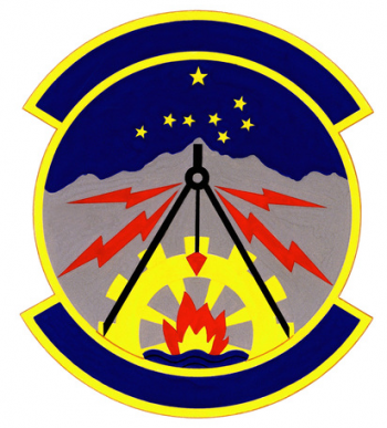 Coat of arms (crest) of the 176th Civil Engineering Squadron, Alaska Air National Guard
