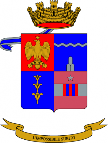 Coat of arms (crest) of the 51st Engineer Battalion, Italian Army