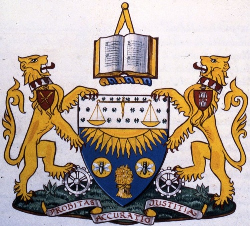 Arms of Chartered Institute of Management Accountants