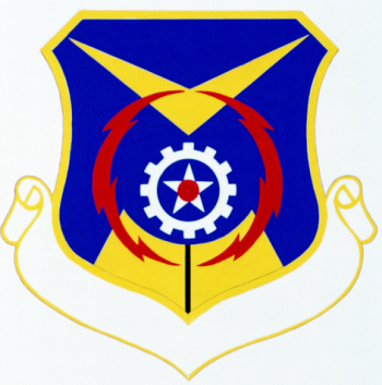 Coat of arms (crest) of the Logistics Information Systems Division, US Air Force