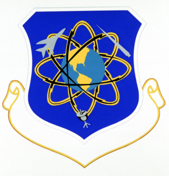 Coat of arms (crest) of the Strategic Communications Division, US Air Force