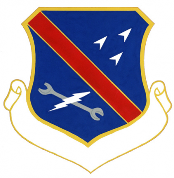 Coat of arms (crest) of the 3350th Technical Training Group, US Air Force