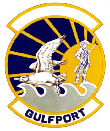 Coat of arms (crest) of the Air National Guard Combat Readiness Center, US