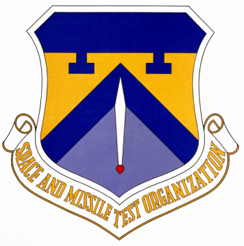 Coat of arms (crest) of the Space & Missile Test Center, US Air Force