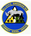 9th Civil Engineer Squadron, US Air Force.png