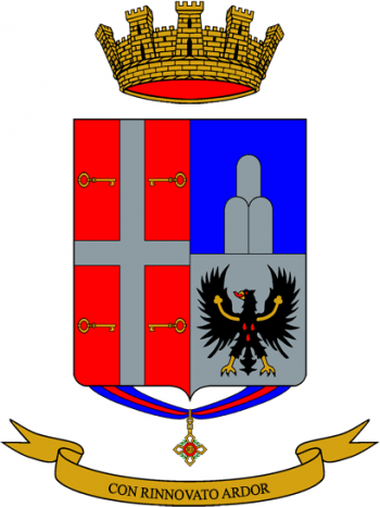 Coat of arms (crest) of the 123rd Infantry Regiment Chieti, Italian Army