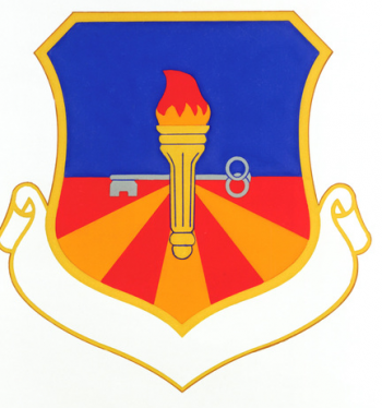 Coat of arms (crest) of the 3370th Technical Training Group, US Air Force