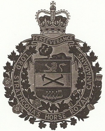 Coat of arms (crest) of the Lord Strathcona's Horse Royal Canadians, Canadian Army