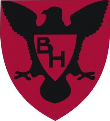 Coat of arms (crest) of the 86th Infantry Division (now 86th Training Division) Blackhawk Division, US Army