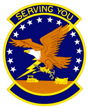 Coat of arms (crest) of the 410th Civil Engineer Squadron, US Air Force