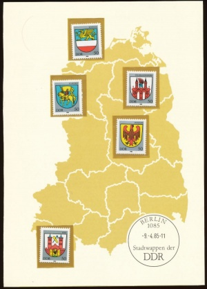 Arms (crest) of Germany (stamps)