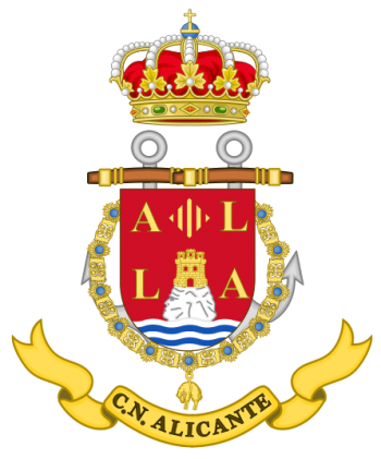 Coat of arms (crest) of the Naval Command of Alicante, Spanish Navy