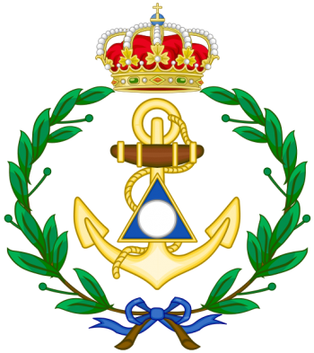 Coat of arms (crest) of the Navy Hydrographic School, Spanish Navy