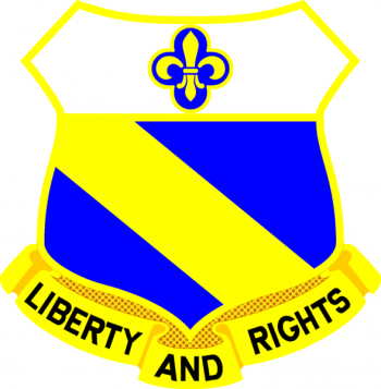 Arms of 349th (Infantry) Regiment, US Army