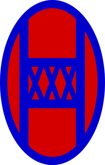 Arms of 30th Infantry Division Old Hickory , USA